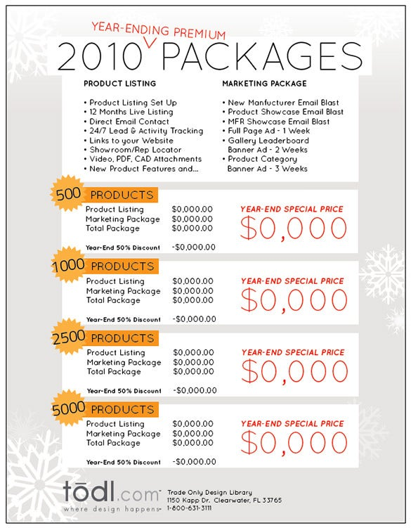 holiday sales email template