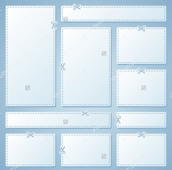 Multiple Blank Coupon Templates Download  Blank Coupons Templates