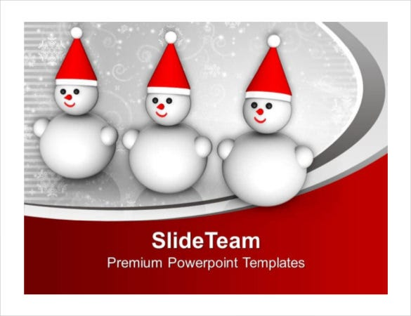 holiday powerpoint template free pdf format