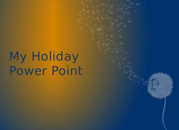 my holiday powerpoint template free download
