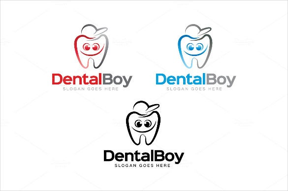 dental boy logo template