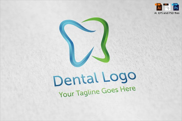 professional dental logo template