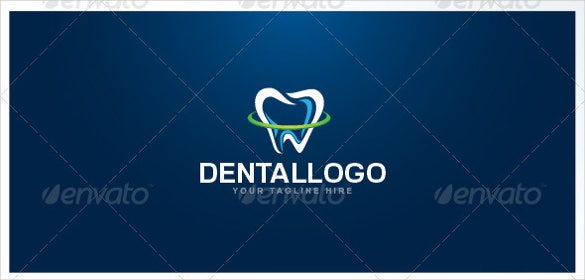 vector dental logo template