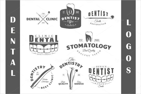 16 dental logo template