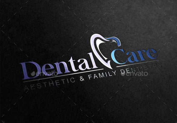 care dental logo template