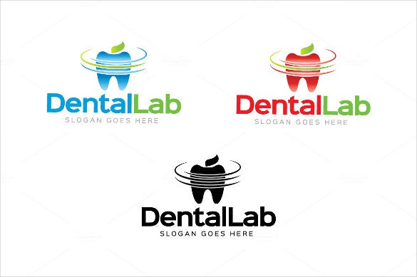 fresh dental logo template