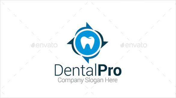recycle dental logo template