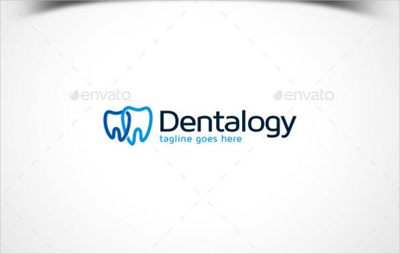 simple dental logo template
