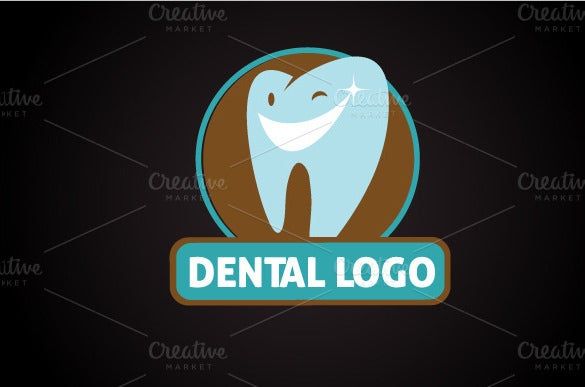 kids dental logo template