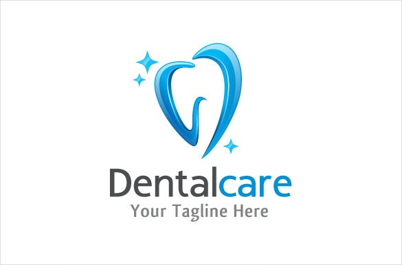 clear dental logo template