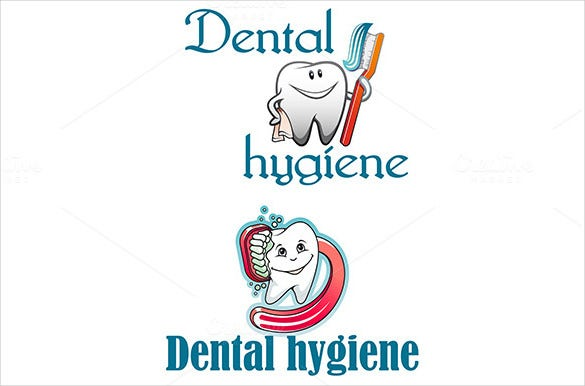 paste dental logo template