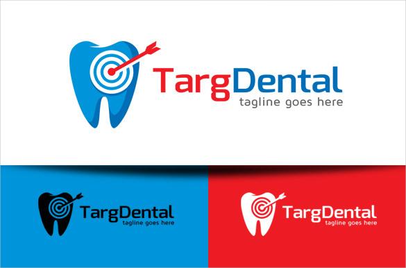 target dental logo template