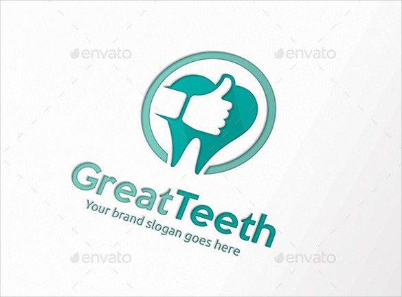 great dental logo template