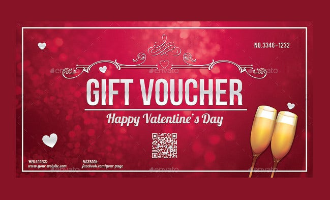 thematic love coupon template download