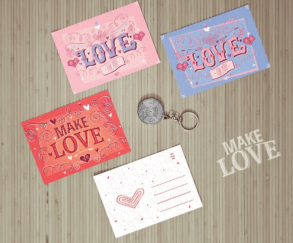 love coupon templates in different colors