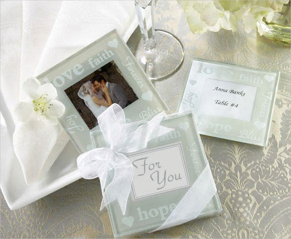 peralized photo wedding coasters designs download