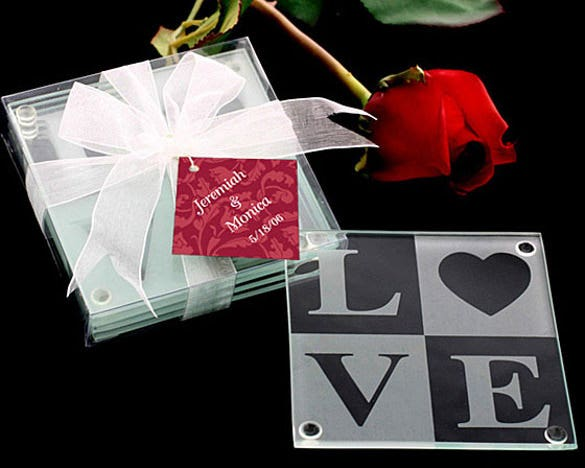 download love wedding coaster best design