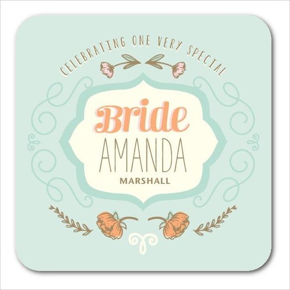 tea poppies wedding coaster download best design