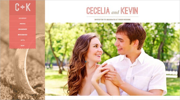 beautiful responsive wedding wordpress theme