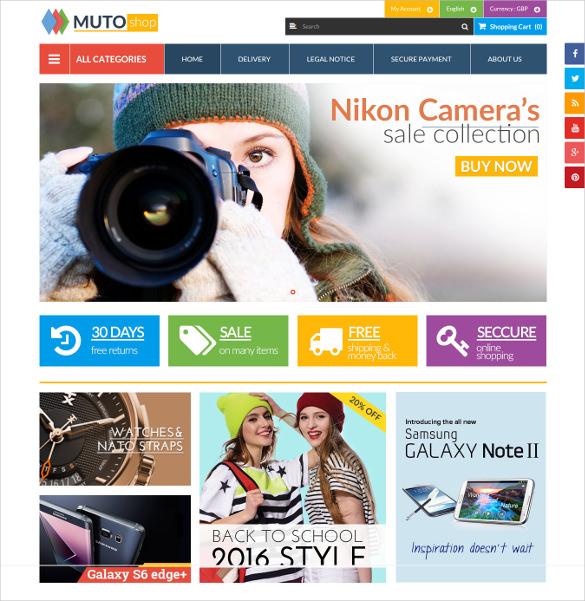 muto mega shop responsive prestashop ecommerce theme