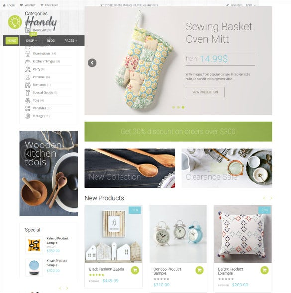 handy handmade shop shopify ecommerce theme