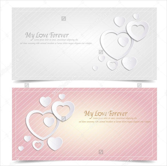 elegant love coupon template downloads