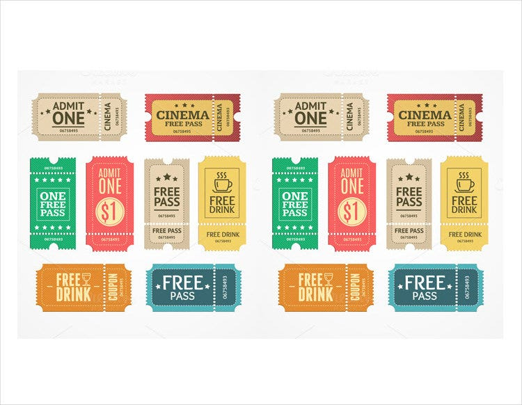 multipurpose coupon design template download