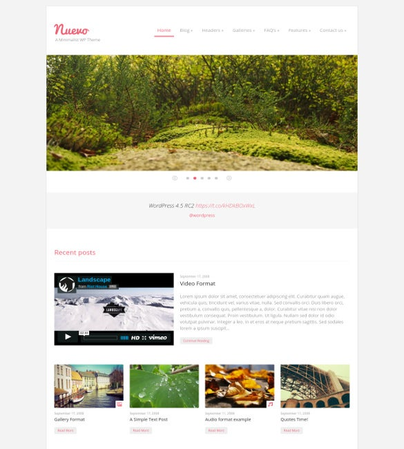 35 Best Minimalist Website Templates