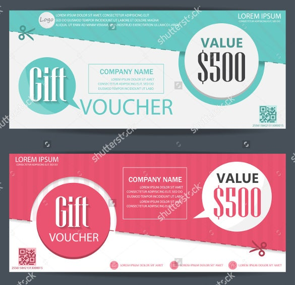 corporate coupon design template download1