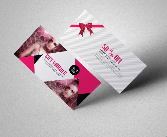 coupon design template for fashion industry