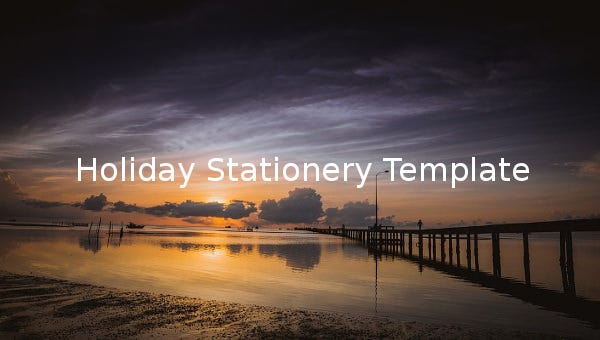 holidaystationerytemplate
