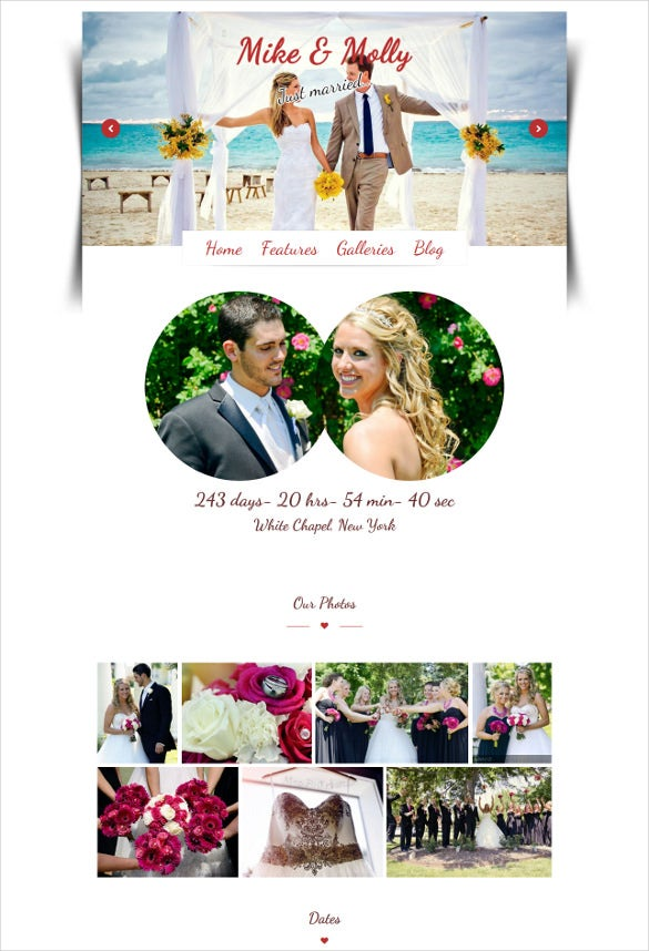 wedding wordpress photo gallery theme