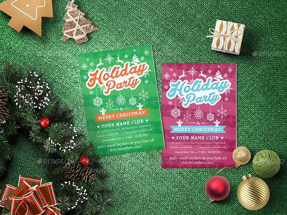 28 Holiday Flyer Templates Free PSD Vector EPS PNG Format – Holiday Party Flyer Template