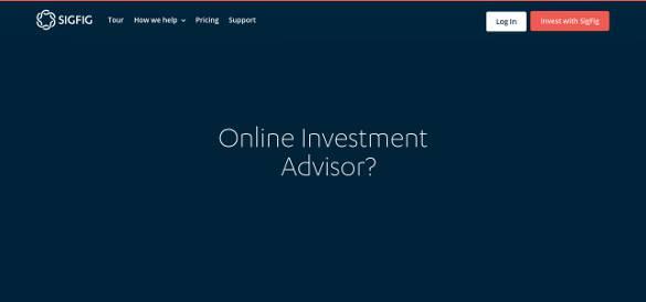 sigfig online investment advisor