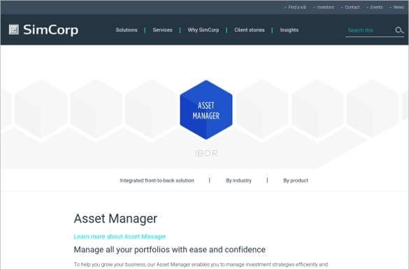 asset manager portfolio software tool