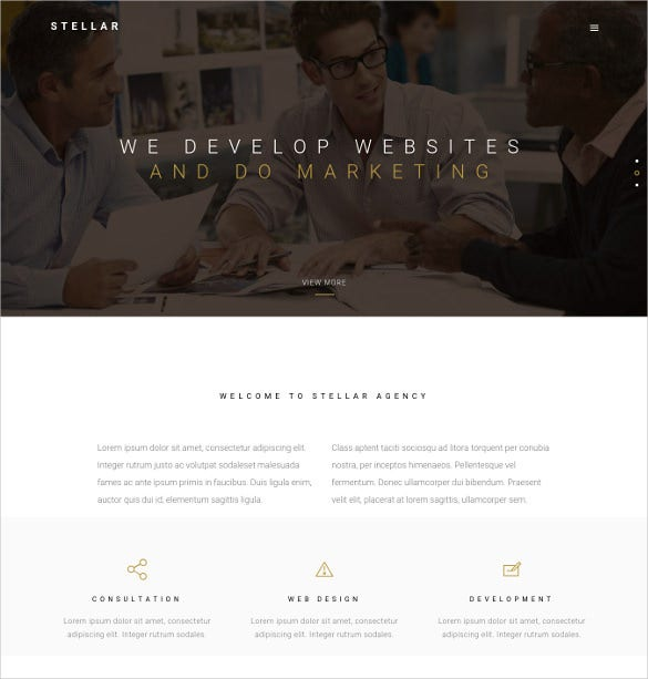 stellar one page multipurpose responsive wordpress html5 theme
