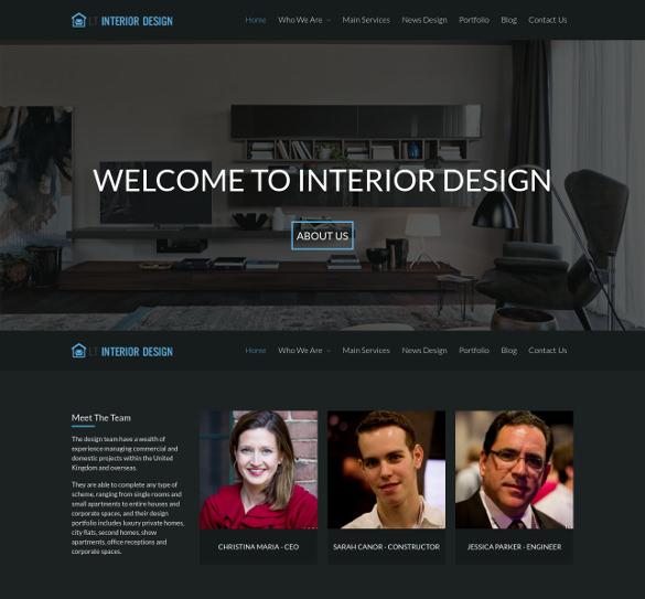 Lt Interior Design Wordpress Theme Free Demo Download