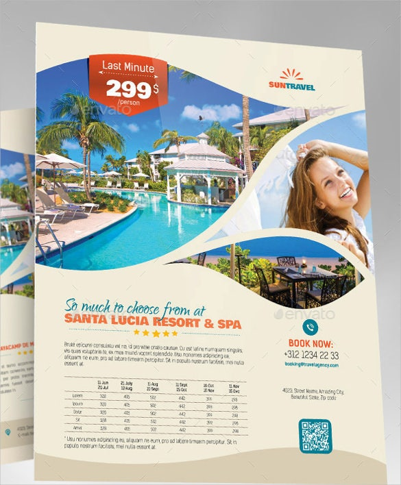 Tourism Flyer Template Psd Carnavaljmsmusicco - Tourism flyer template