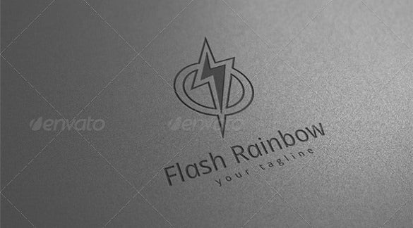 splash electrical logo template