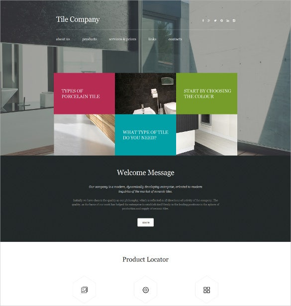 39+ Interior Design Website Templates | Free & Premium Templates