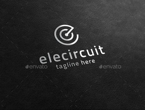 volt electrical logo template