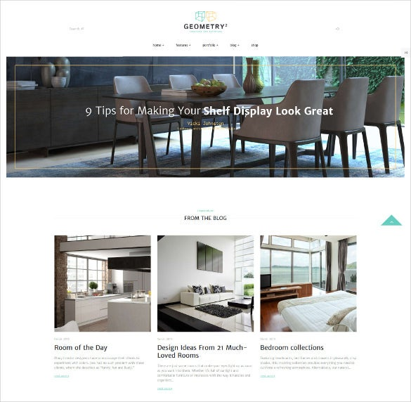 40+ Interior Design Website Templates | Free & Premium Templates