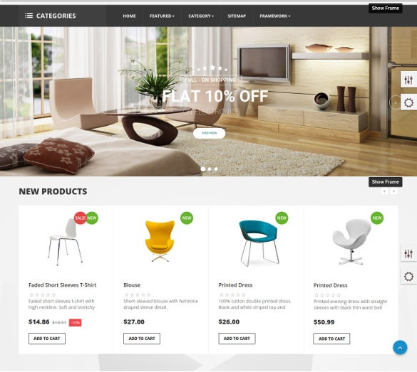 40 interior design website templates free premium for Interior design layout templates free