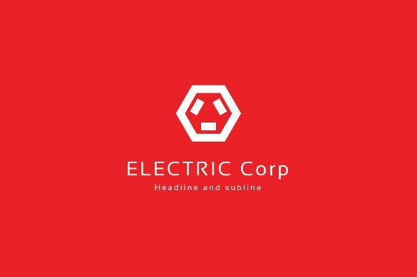 scheme electrical logo template