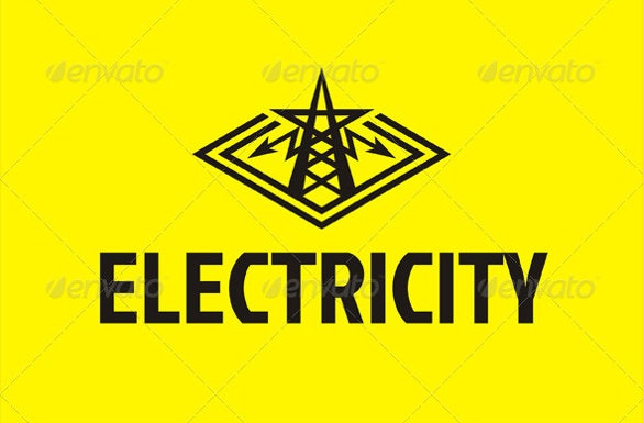 plant electrical logo template