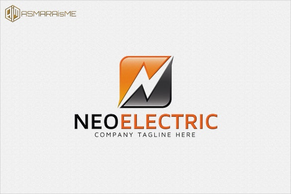 neo electrical logo template