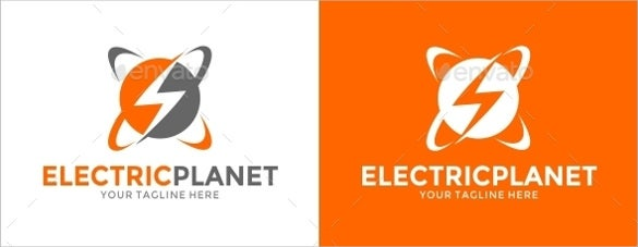 Clean Electrical Logo Template