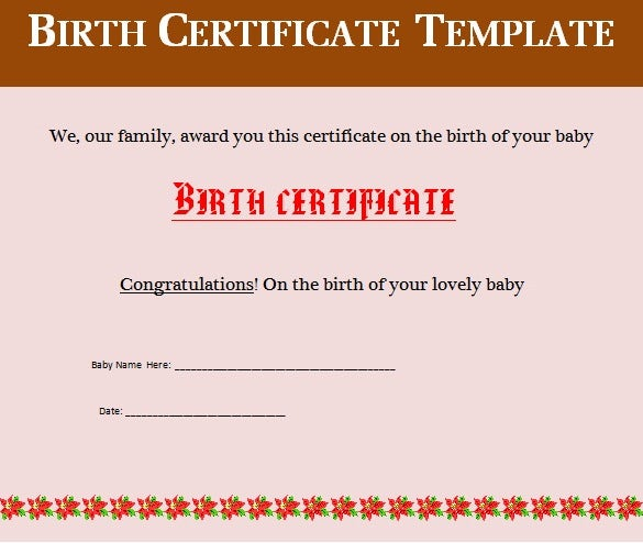 Birth certificate template 34 free word pdf psd format birth certificate template free editable word doc yadclub