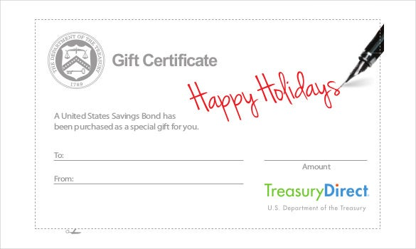 Gift Voucher Template Free Download 20 Holiday Gift Certificate Templates  Free Sample Example .