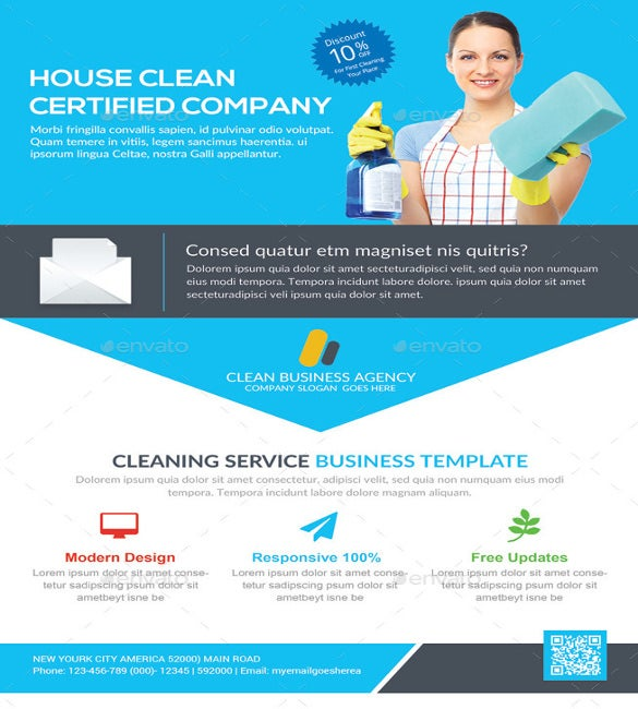 House Cleaning Advertising  BesikEightyCo